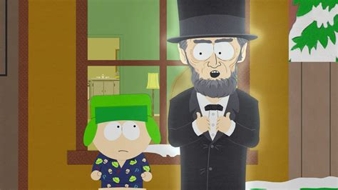 south park abraham lincoln abraham lincoln south park studios netherlands