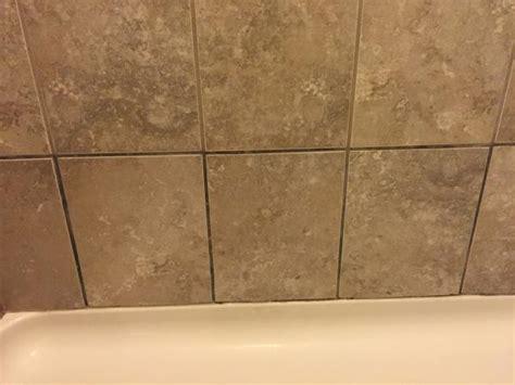 please help dark grout in master bath shower pics