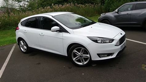 White Ford Focus by Ford Focus Hatchback White Trendy New Ford Focus St Hatch