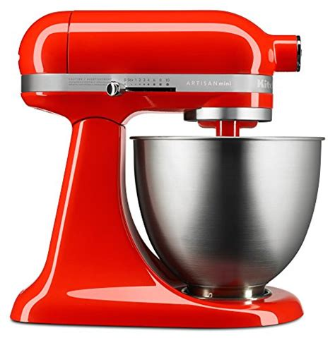 Hot Sauce KitchenAid Artisan Mini Stand Mixer Review   Chefs Stand Mixer Reviews