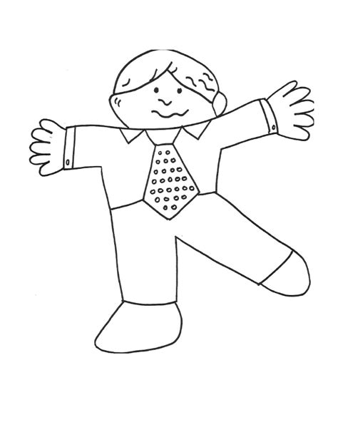 free coloring pages of flat stanley pages