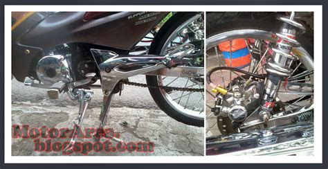 Velg Racing Belakang Supra X 125 Dobel Disk Original modifikasi honda supra fit new ala thailand look style