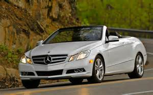 2011 Mercedes E350 Cabriolet 2011 Mercedes E350 Cabriolet Left Front Photo 7