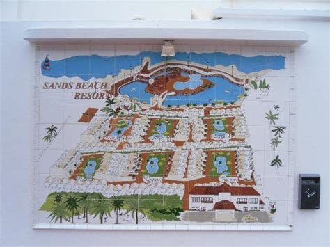 sands resort map map of the hotel complex picture of sands resort