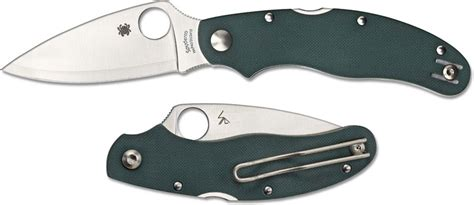 spyderco caly spyderco c113gpgr caly 3 knife sprint run hap40 sus410 blade green g10 handle
