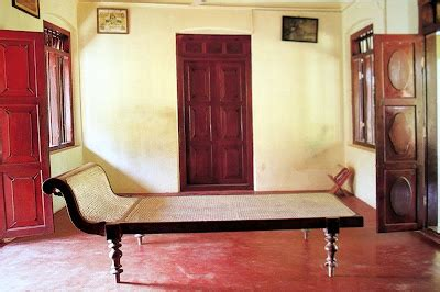 Daybed Designs India A Caned Daybed From Kerala Placed Between Two Open