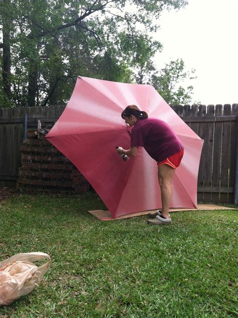 Spray Paint Outdoor Umbrella Paint Patio Umbrella