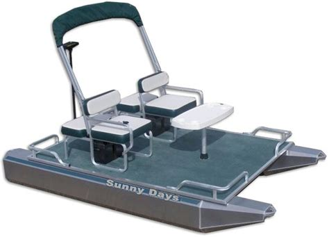 small pontoon electric boats electric mini pontoon boat