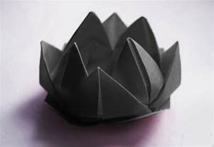 Origami Black Lotus - sherlockology the black lotus