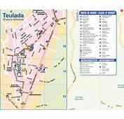 Moraira Maps  Teulada Town Map