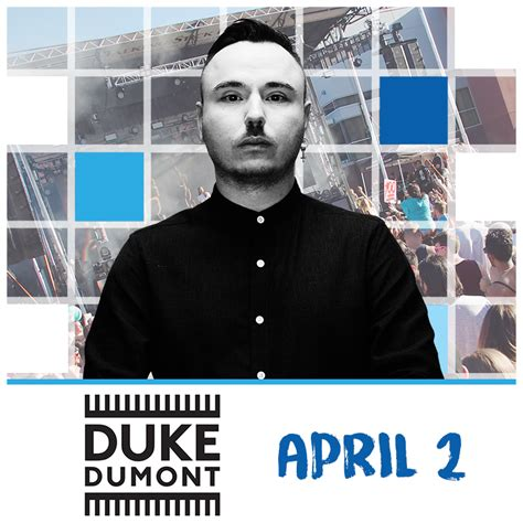 Duke Dumont duke dumont scottsdale tickets 04 02 17 talking stick
