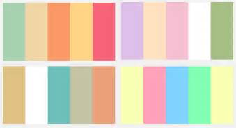 colors palette pretty color palette vs chic color palette lebunny bleu blog