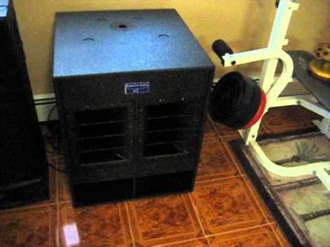 Speaker Subwoofer American Bos american audio pxw 18p active subwoofer