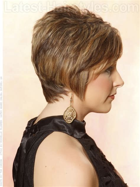 hairstyles for women feathered back on sides short feathered haircuts