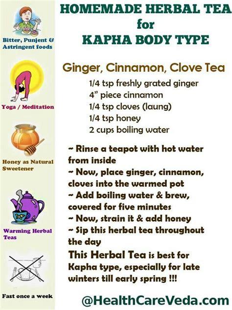 Kapha Detox Diet by Ayurveda Kapha Herbal Tea For Kapha More Kapha Tips