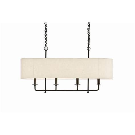 linen chandelier arteriors 89417 bronze chandelier 4 light eggshell