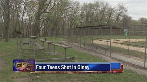 olney section of philadelphia 4 teens shot and wounded in olney section of philadelphia