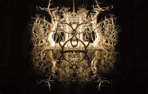 Diy Forest Chandelier This Gorgeous Chandelier Plays With Shadows To Transport You Into A Fascinating Forest
