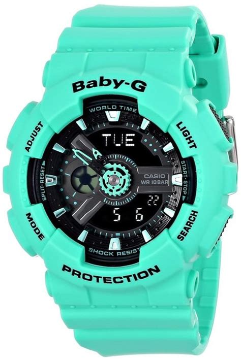 casio baby g shock resistant watches for