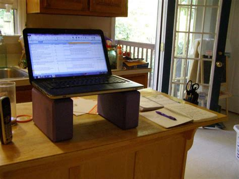build your own stand up desk the easiest and cheapest way