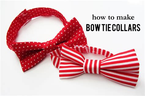 bow tie collars 10 best diy gift tutorials for your wiproo