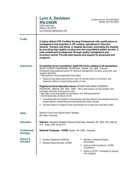 nursing student resume template free nursing resume template sample