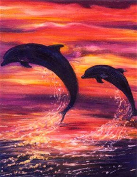 Sunset Orca Pin Warrior Pins - dolphin sunset sunset animal