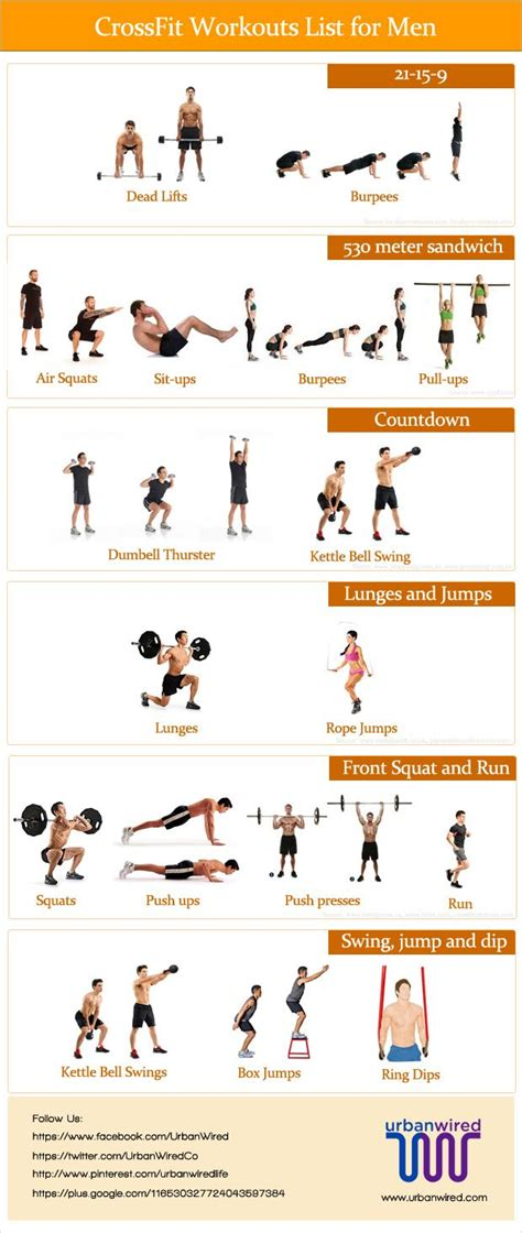 best 25 crossfit workouts list ideas on cross