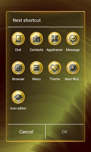 next launcher full version apk free 3d golden next launcher theme apk v 1 0 full version