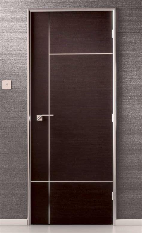 Interior Doors Ta Caserta Inlaid Pvc Pre Finished Walnut Doors