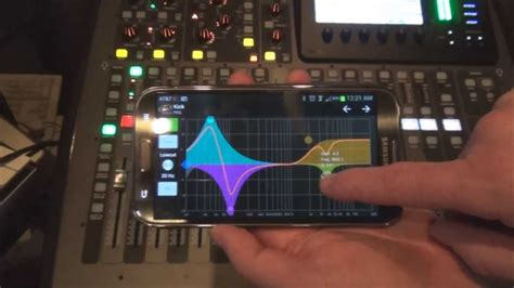 mixing desk app mixing station android app for behringer x32 mixer