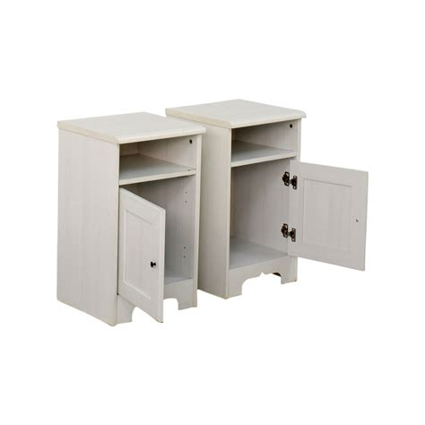 used ikea cabinets 79 off ikea ikea hemnes white side cabinets storage