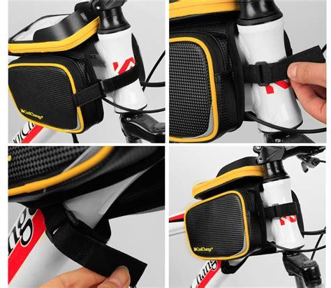 Tas Sepeda Waterproof coolchange tas sepeda waterproof smartphone 6 inch