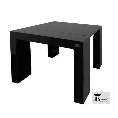 tavolo nero lucido tavolo consolle allungabile laccato nero lucido della