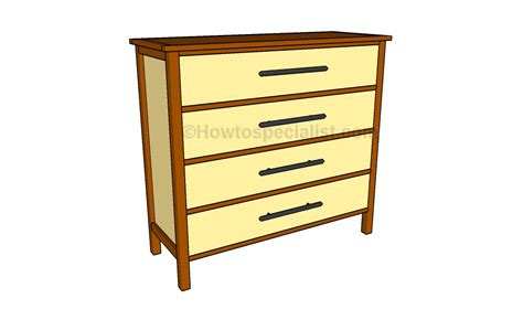 Plans For A Dresser by Simple Dresser Plans Howtospecialist How To Build