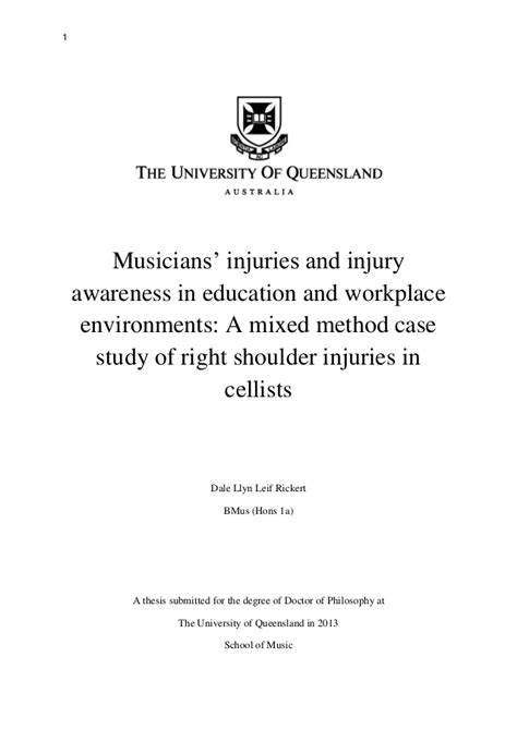 thesis australia dr dale rickert phd thesis of queensland