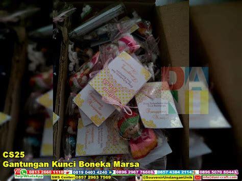 Jual Gantungan Kunci Boneka Murah by Gantungan Kunci Boneka Marsa Souvenir Pernikahan