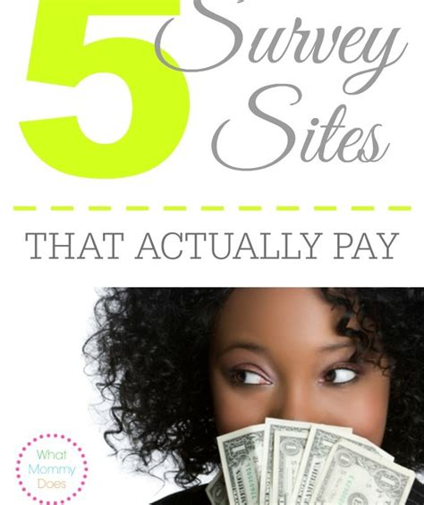 Survey Websites That Pay You - january 2015 archives what mommy does