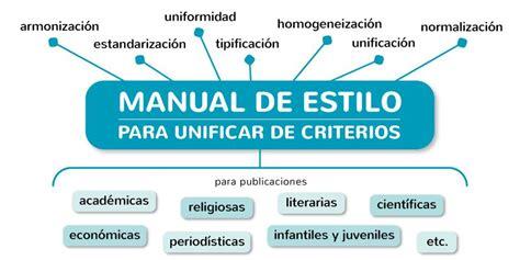 libro manual de estilo de manual de estilo 191 por qu 233 estandarizar y armonizar criterios