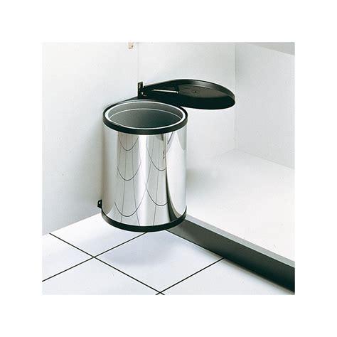 poubelle ronde en inox  bac  litres ilovedetails