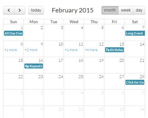 calendario bootstrap calendario bootstrap con jquery event calendar jquery plugins