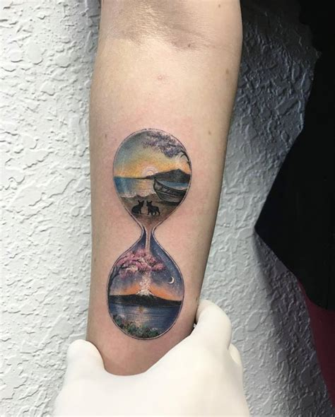 night and day tattoo 40 stunning and drool worthy miniature circle tattoos that