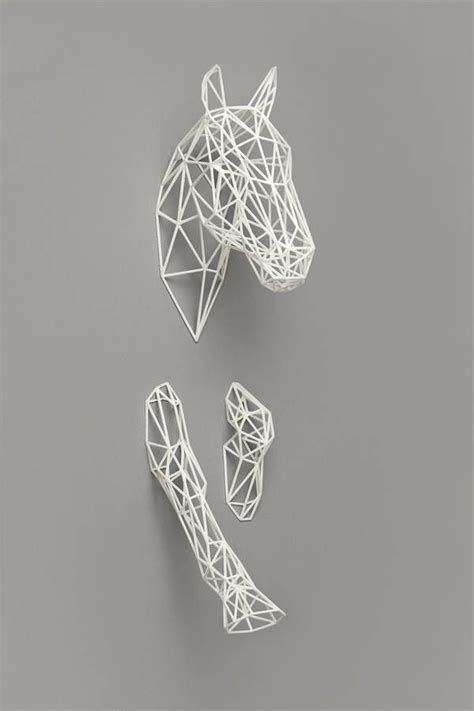 sculpture wall decor best 25 geometric sculpture ideas on 3d
