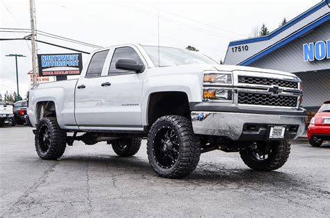 chevy lifted used lifted 2015 chevrolet silverado 1500 z71 4x4 truck