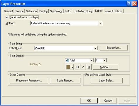 arcgis cad tutorial cad to gis arcgis tutorial labelling contours effectively