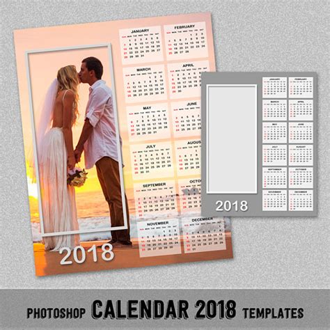 photoshop calendar template 2018 madrat co