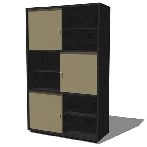 Low Storage Cabinet Hideout And Low Cabinets 3d Model Formfonts 3d Models Textures