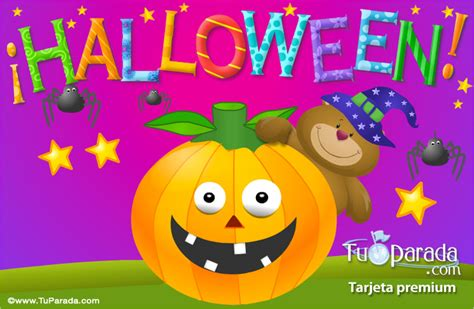 imagenes de halloween animadas gratis ecard de halloween con osito halloween tarjetas