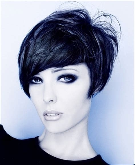 short bob with shorter layers at crown short layered haircuts for women