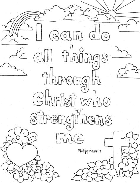 Coloring Page Bible by Free Coloring Pages Of Bible Quotes For Adults
